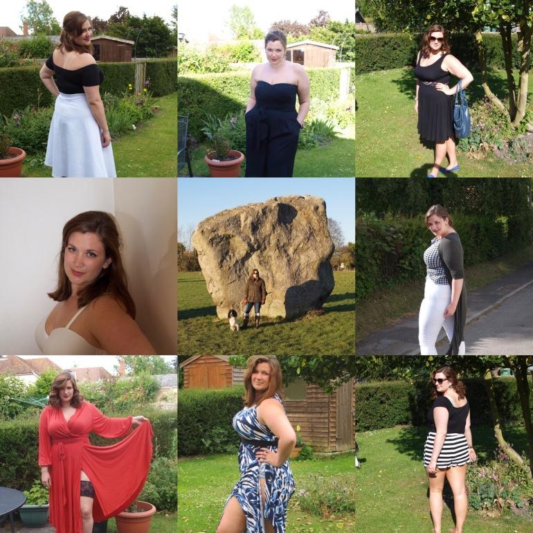 Curvy Girl Thin - a year in fashion