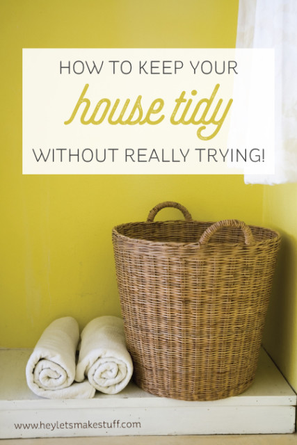 house tidy