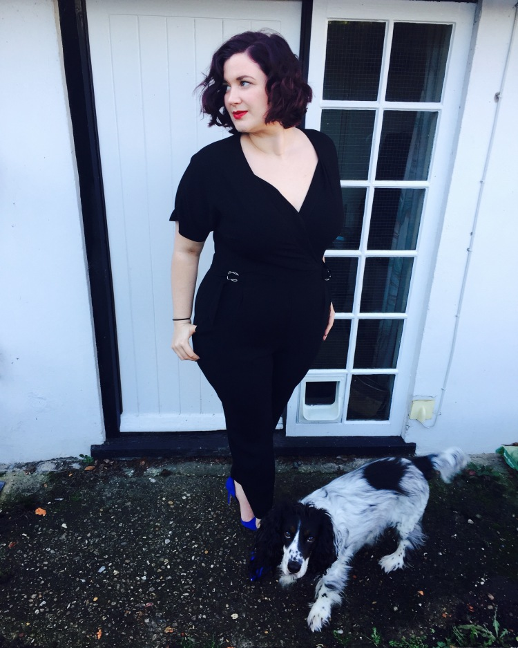 Curvy Girl Thin in Elvi jumpsuit - review
