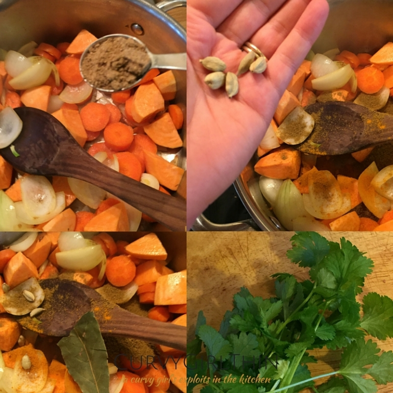 Indian spiced sweet potato soup recipe