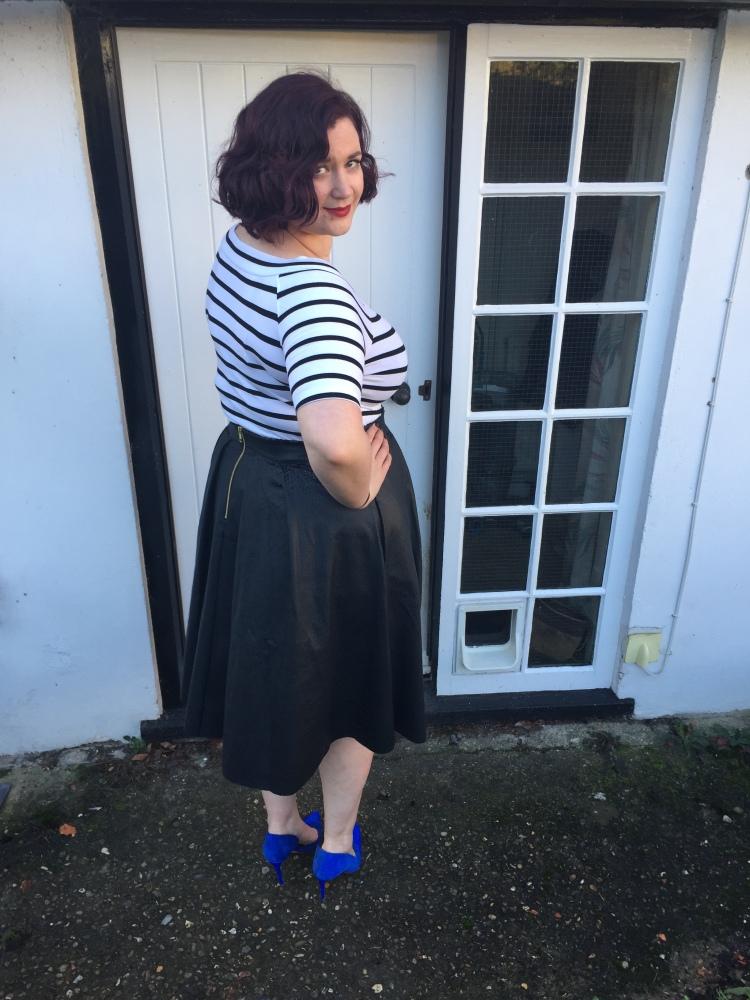 Review of Elvi textured reptile skirt