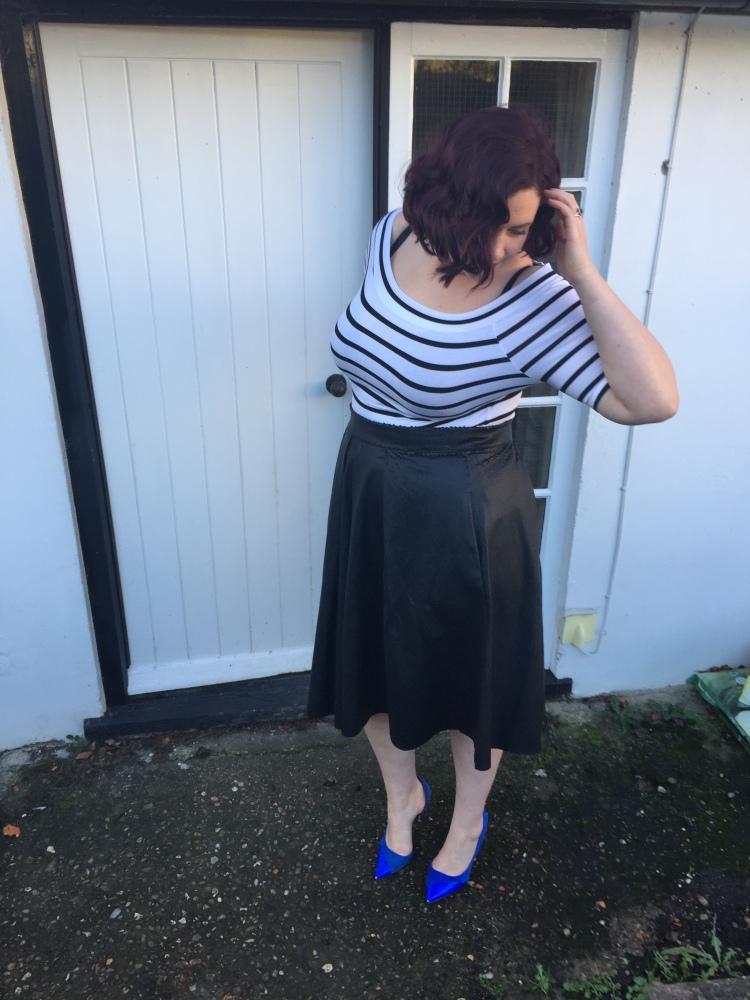 Elvi textured reptile skirt - review
