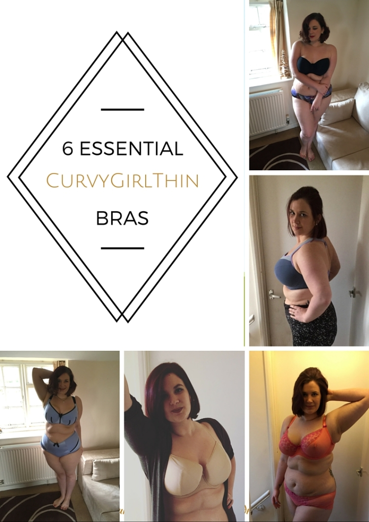 A Curvy Girl's Lingerie Essentials