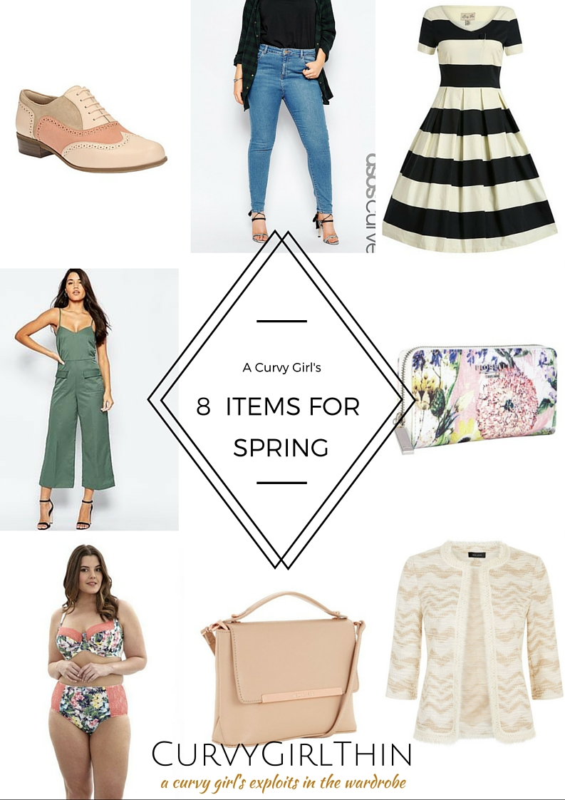 A Curvy Girl's Spring Wishlist