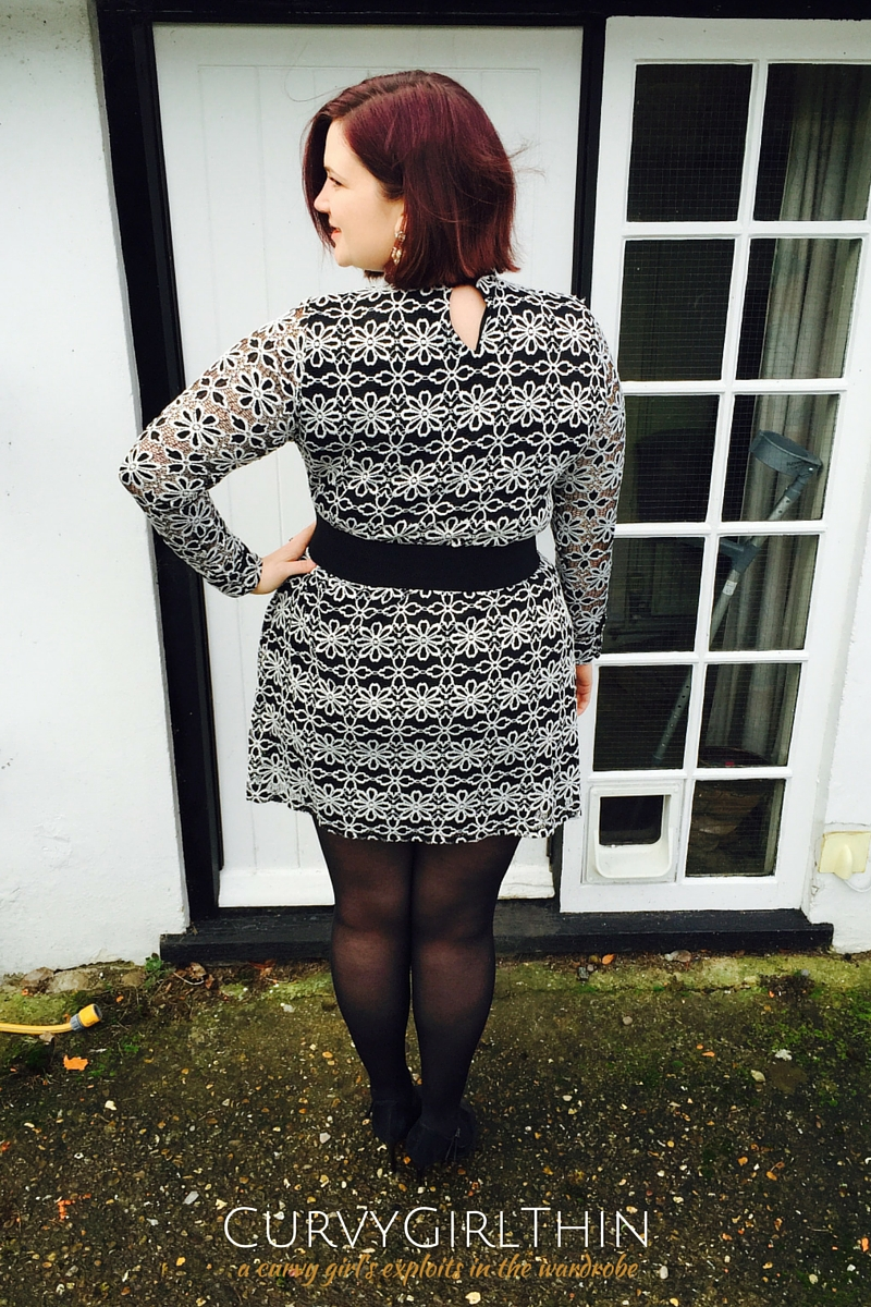 Plus size retro 60s dress from Simply Be