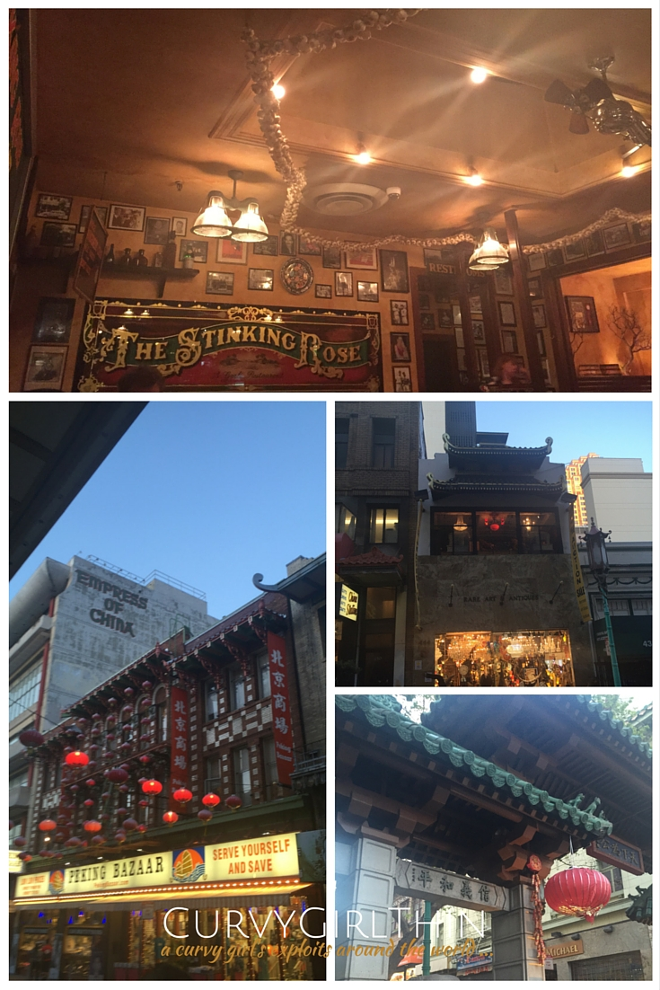 China Town & the Stinking Rose - San Francisco Travel Guide