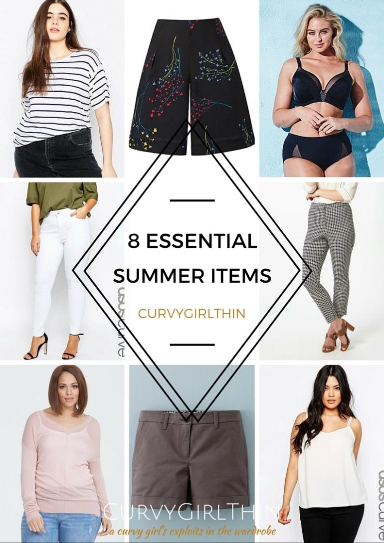 8 Plus Size Essentials for Summer