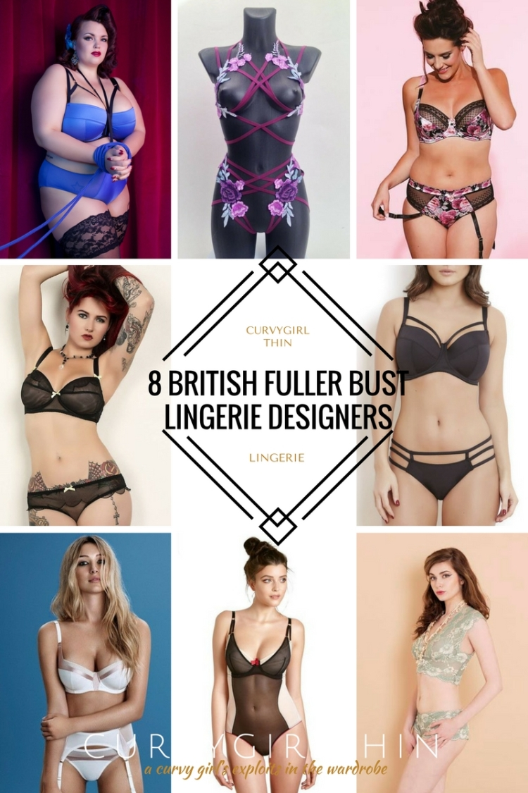8 British Fuller Bust Lingerie Designers