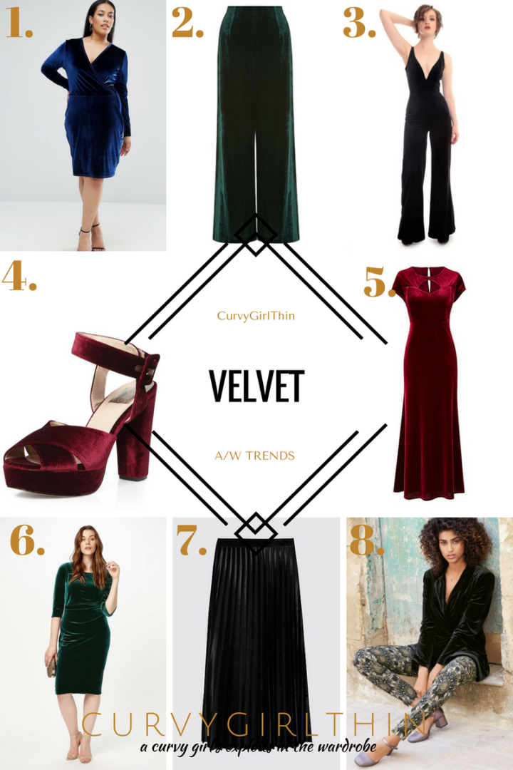 Plus Size A/W trends - Velvet