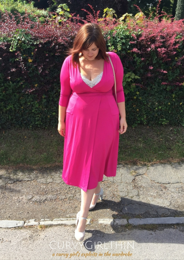 Plus Size Transitional Fashion - How to take a dress from Summer to Autumn