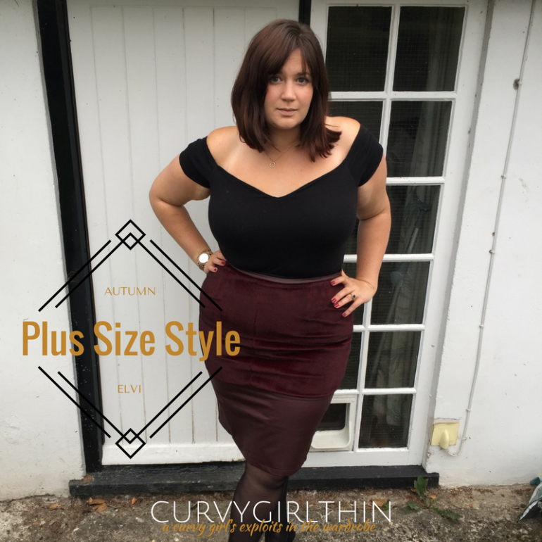 Plus Size Autumn Style with Elvi