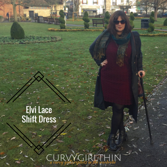 Elvi Lace ShiftDress*