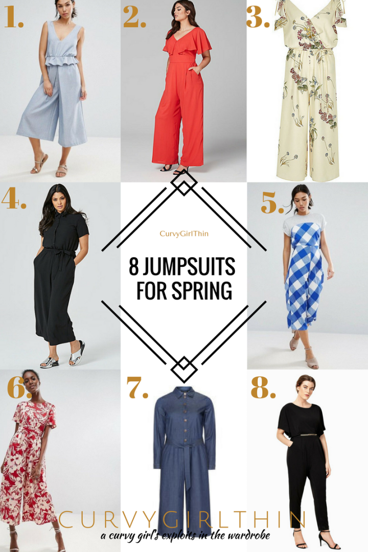 8 Jumpsuits for Spring