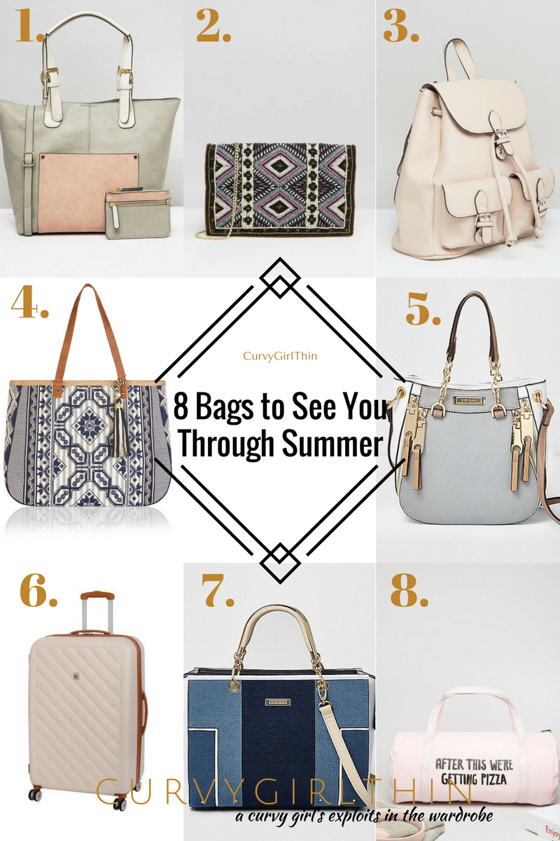 8 Bags to See You Through Summer