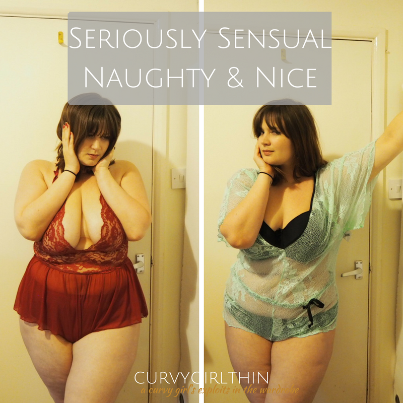 Seriously Sensual Naughty & Nice Plus Size Lingerie