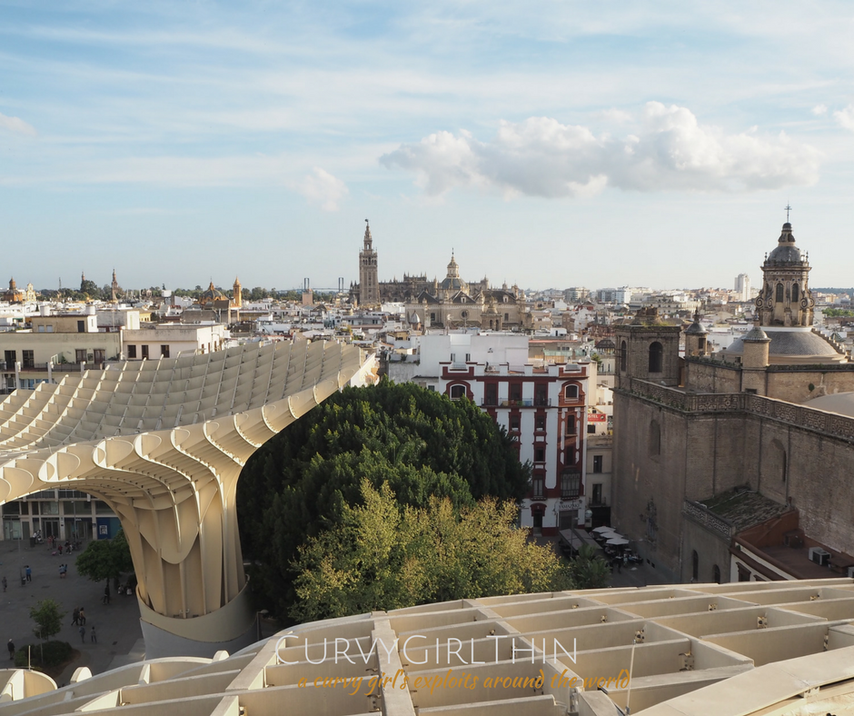 Seville Travel Guide: Metropol Parasol - The Mushrooms