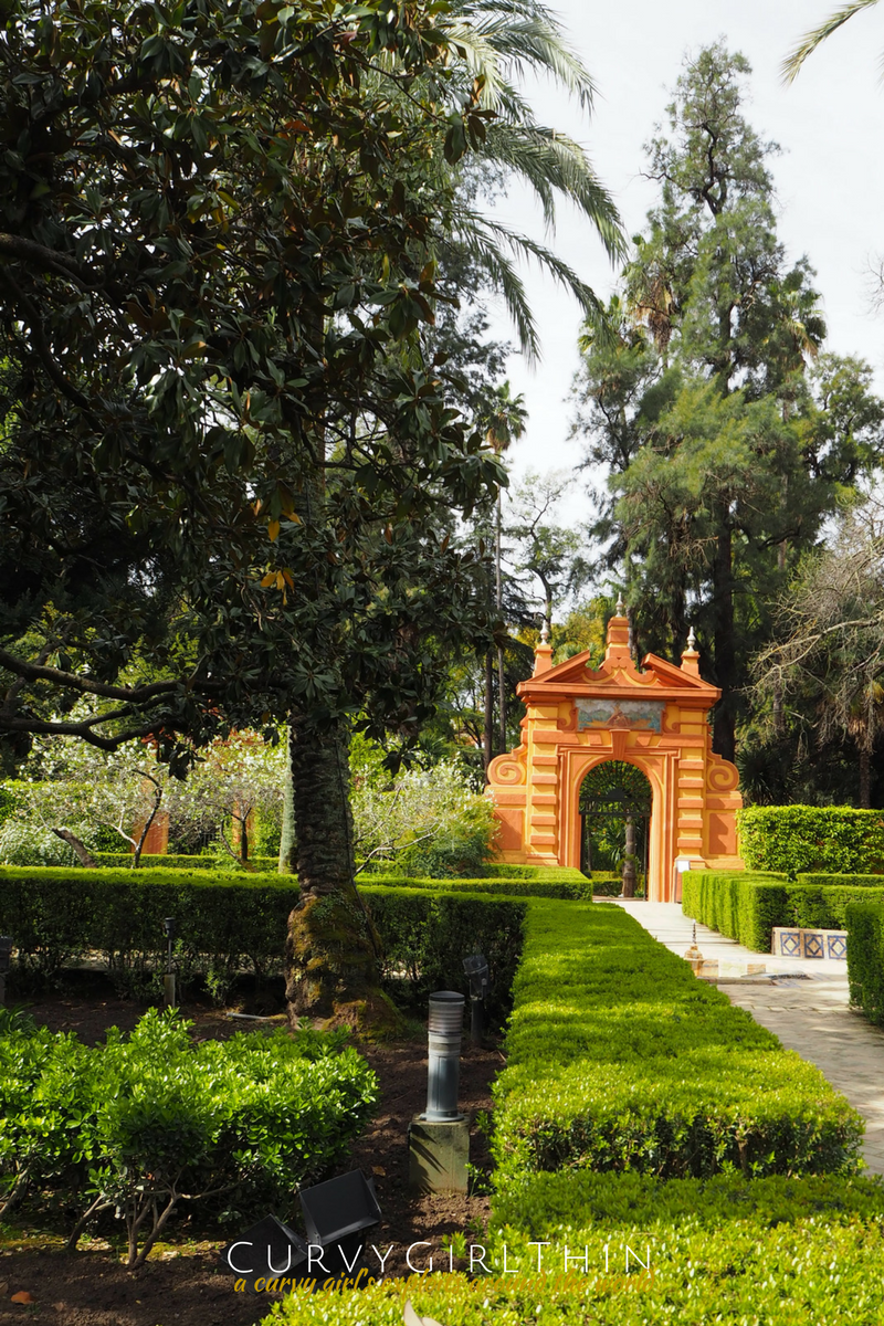 Seville Travel Guide Real Alcazar