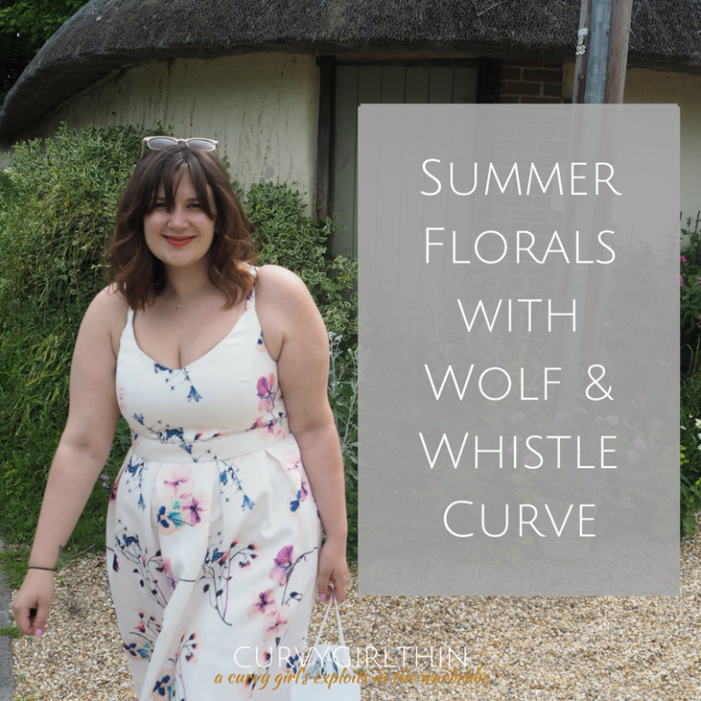 Summer Florals with Wolf & Whistle Curve - Plus Size Summer Style