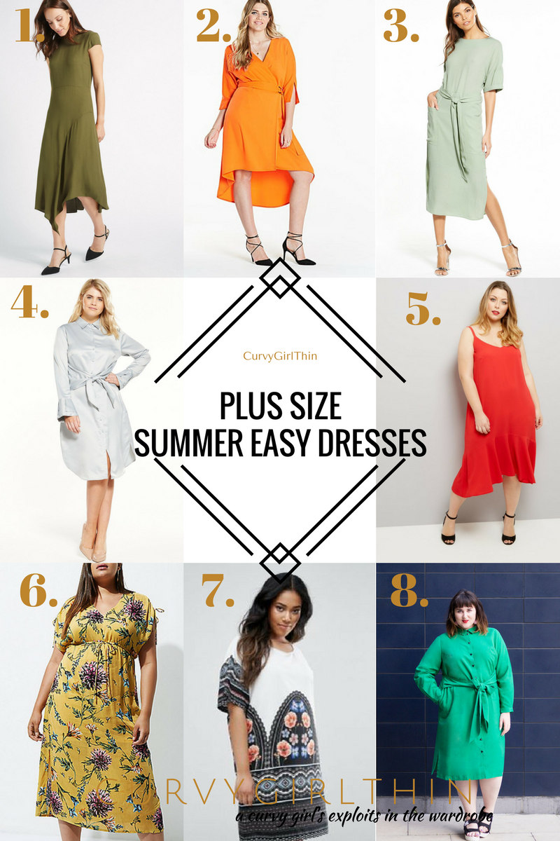 Plus Size Summer Easy Dresses