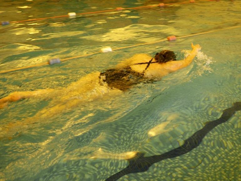 Swimming - plus size active