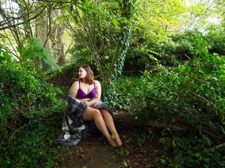 Quiet in the Wild.  Autumn/Winter 17 Fuller Bust Lingerie - Flirtelle Rebecca Review