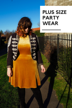 Clad me in Velvet: Plus Size Party Wear for the Holiday Season